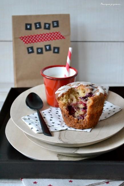 Muffins cranberries & orange