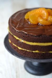 Layer Cake Mandarine Chocolat