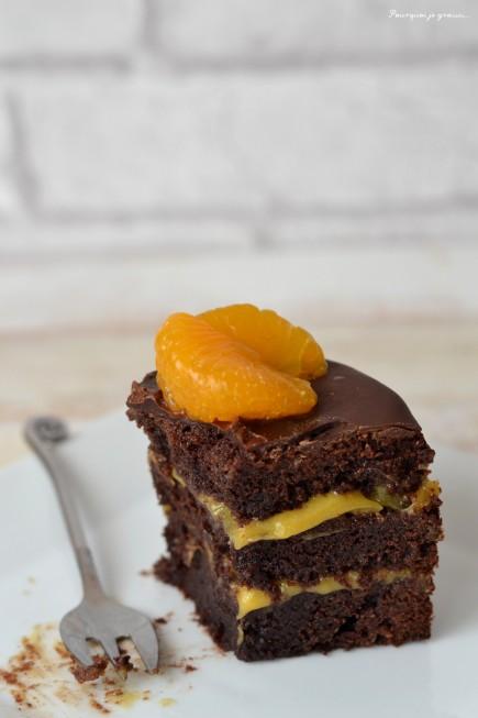 LAYER CAKE AU CHOCOLAT & A LA CRÈME DE CLÉMENTINES