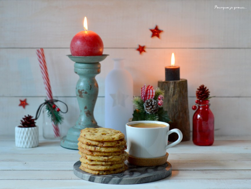 Cookies aux éclats de Salidou (caramel au beurre salé) ... ou Butterscotch cookies !