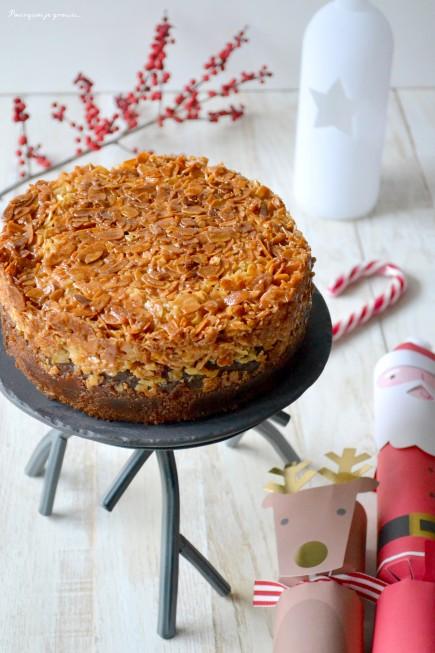 Tosca cake ~ Gâteau suédois aux ama