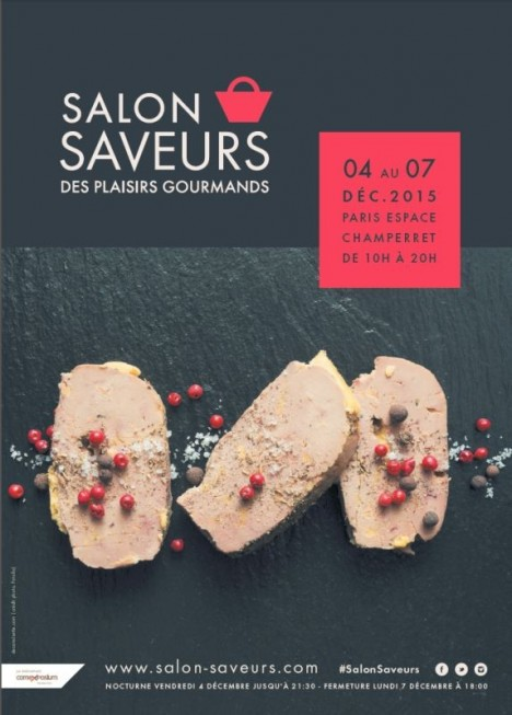 Salon saveurs des plaisirs gourmands du 4 au 7 d cembre for Porte de champerret salon des saveurs