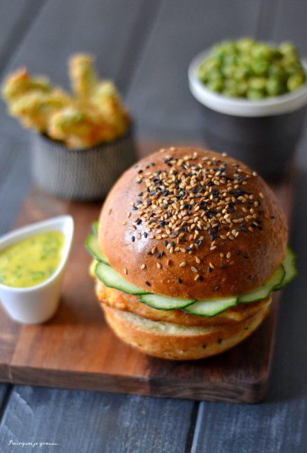 Plateau burger japonais