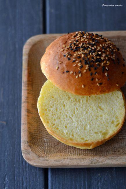 Potato burger buns ou pains briochés à la pomme de terre ! ( 1 / 2)