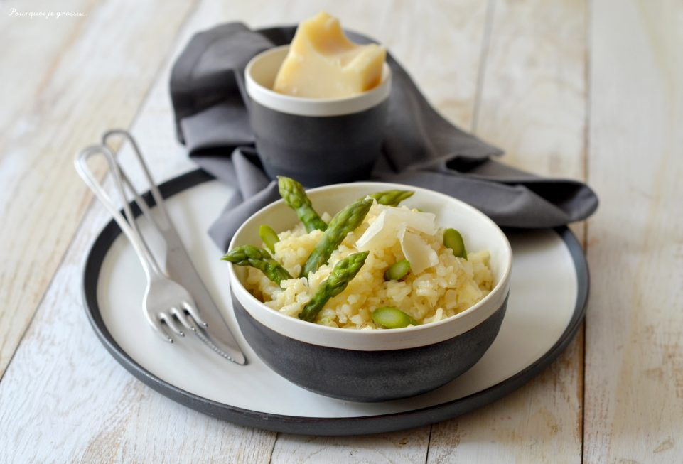 Risotto aux asperges & au parmesan