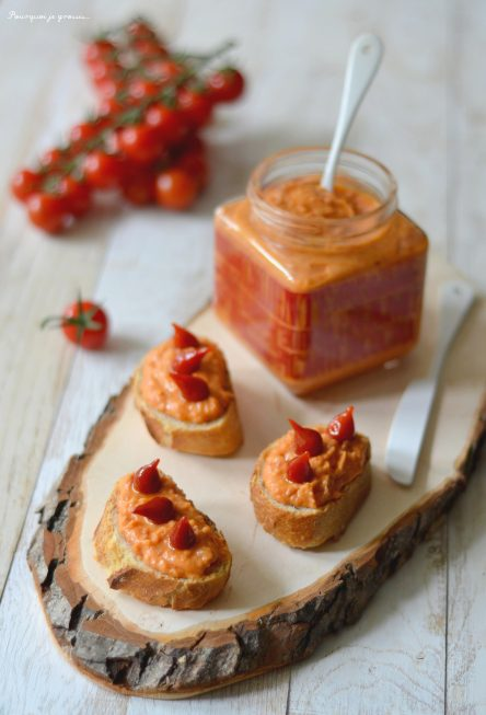Dip ou tartinade épicée au chorizo & aux haricots blancs.