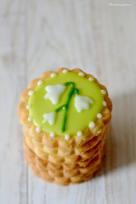 Petits biscuits porte-bonheur