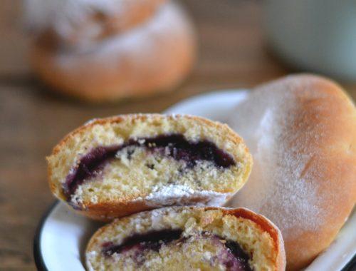 Beignets cuits au four / Baked doughnuts