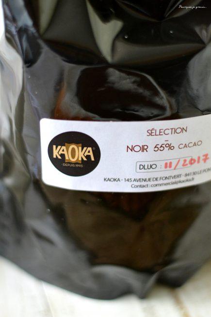 Tarte financière à la noix de coco & au chocolat.