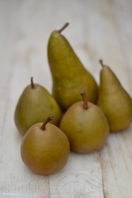 poires ... pears ...